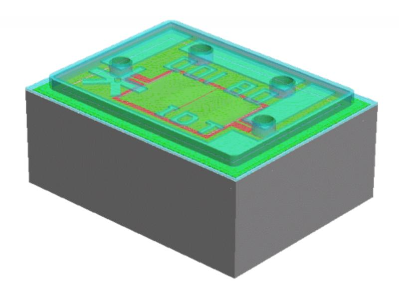 Модель мемс-резонатора
