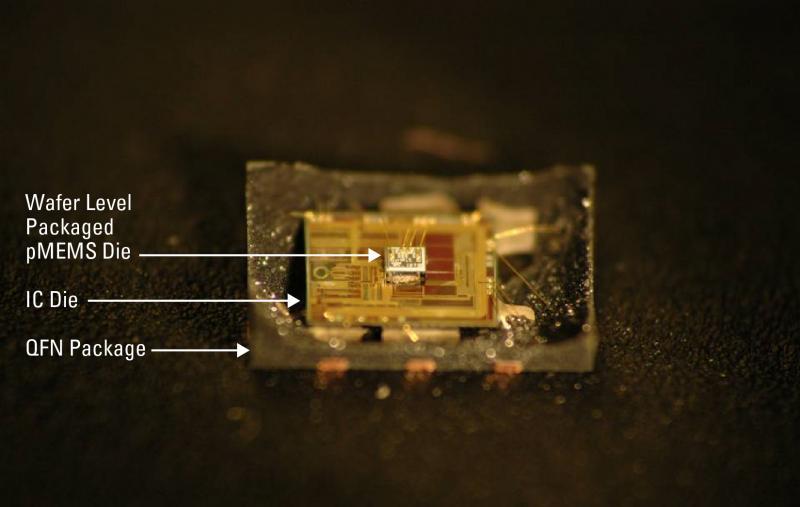 Внутренняя структура MEMS-осциллятора